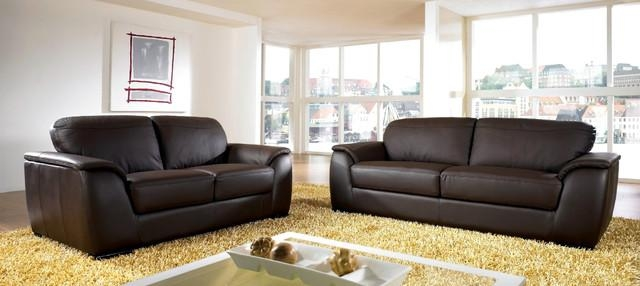 Contemporary Sofa And Loveseat In Ashton Sofas (Image 14 of 20)