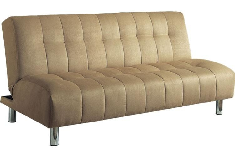 Convertible Futon Couch Sleeper Beige | Chelsea Futon | The Futon Shop Within Convertible Futon Sofa Beds (Image 8 of 20)