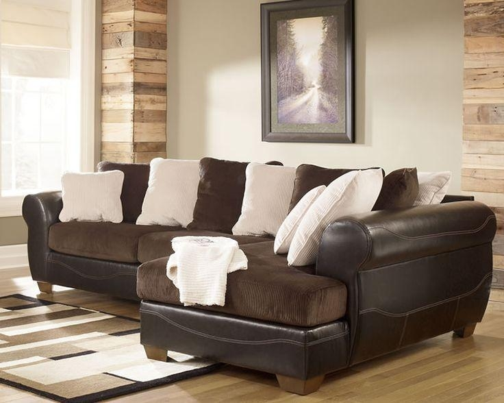 Corduroy Sofas Milo Lh Full Metropolis Chocolate Brown Corduroy Style Fabric Thesofa