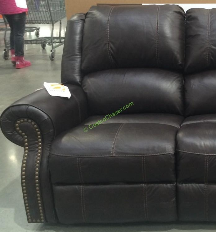 Costco 905597 Berkline Reclining Leather Sofa 2 – Costcochaser Throughout Berkline Leather Sofas (Image 8 of 20)