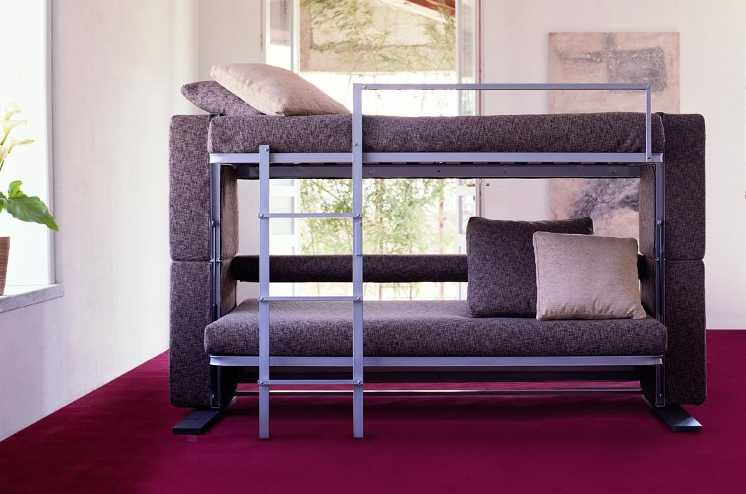 Couch Bunk Bed Convertible Intended For Sofas Converts To Bunk Bed (Image 7 of 20)