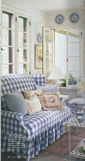 Featured Image of Gingham Sofas