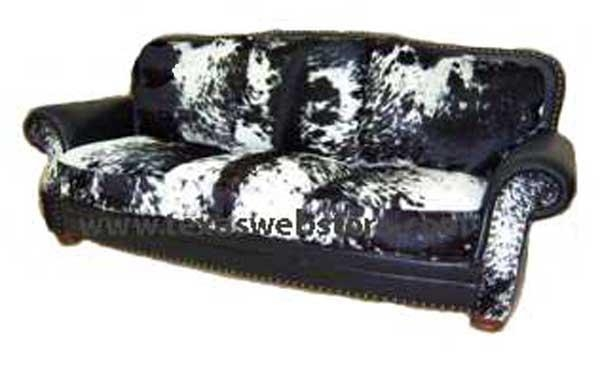 Country Western Cowhide Sofas, Country Western Cowhide Couches In Cowhide Sofas (View 13 of 20)