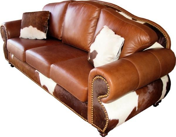 Cowhide Sofas Made In America For A Limited Time Now Only $3170 Inside Cowhide Sofas (View 8 of 20)