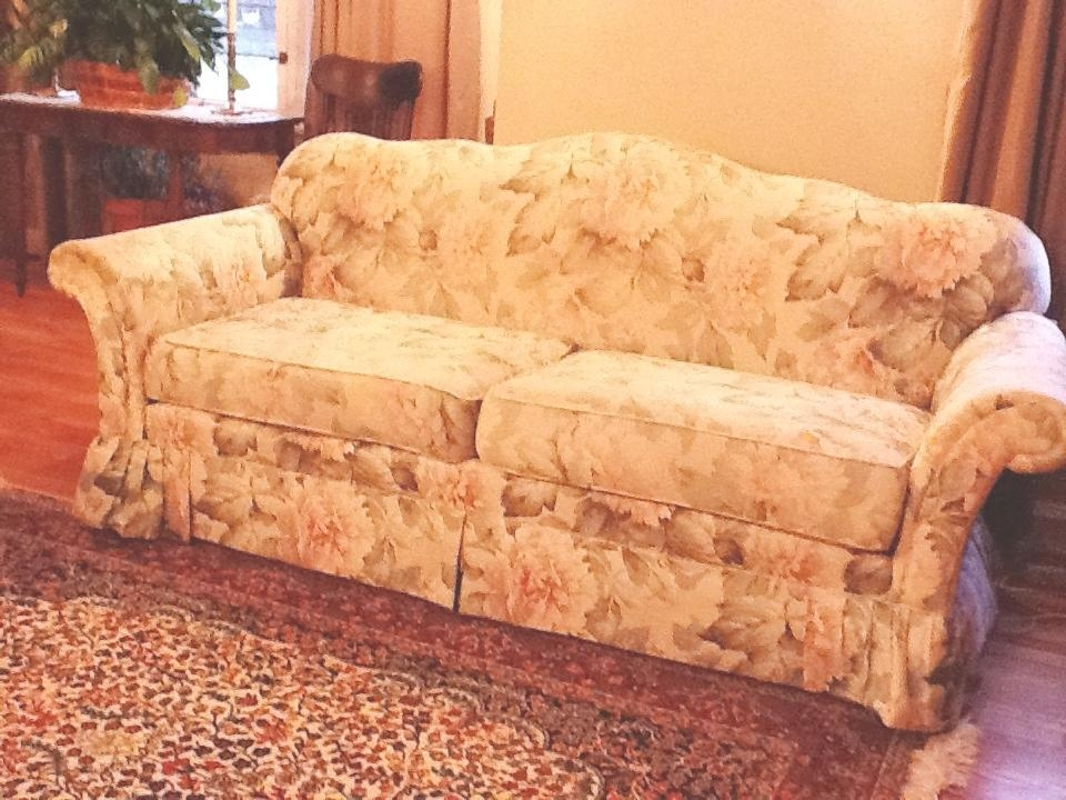 Cozy Cottage Slipcovers: Camel Back Sofa Within Camel Back Sofa Slipcovers (Image 13 of 20)
