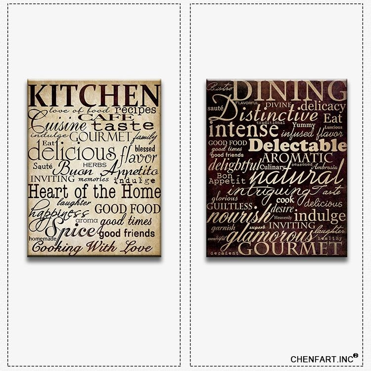 Cucina Wall Decor (Image 8 of 20)