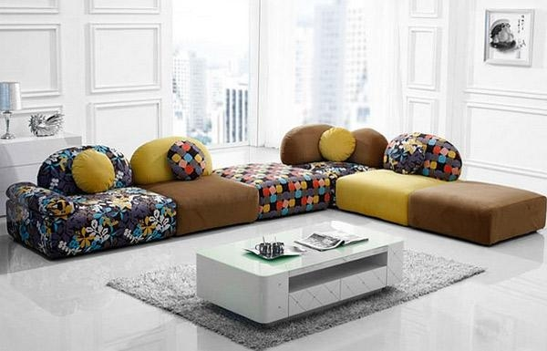 Cuddle Into This 20 Comfortable Floor Level Sofas | Home Design Lover For Low Height Sofas (Image 5 of 20)