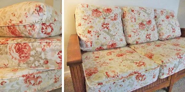 Cushion Slipcovers | The Slipcover Maker Intended For Floral Slipcovers (Image 8 of 20)