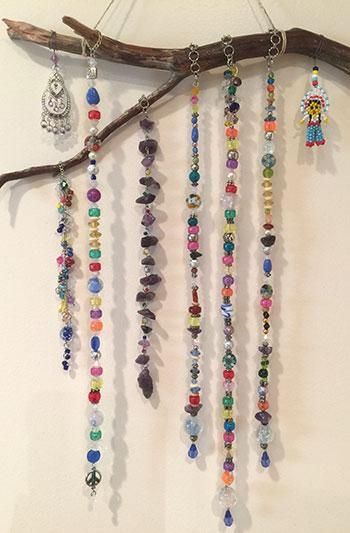 Customer Snapshots – Wall Art With Gemstone Beads, Glass Beads And In Gemstone Wall Art (Image 9 of 20)