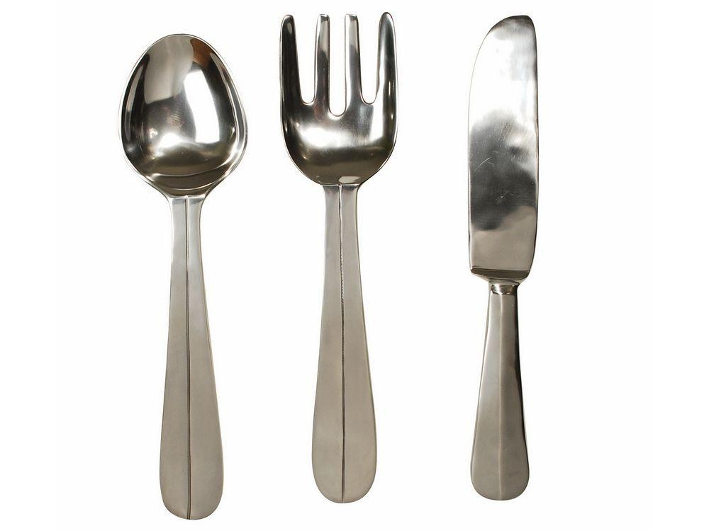 Cutlery Wall Hangings | Knife And Fork Wall Art Inside Oversized Cutlery Wall Art (Image 11 of 20)