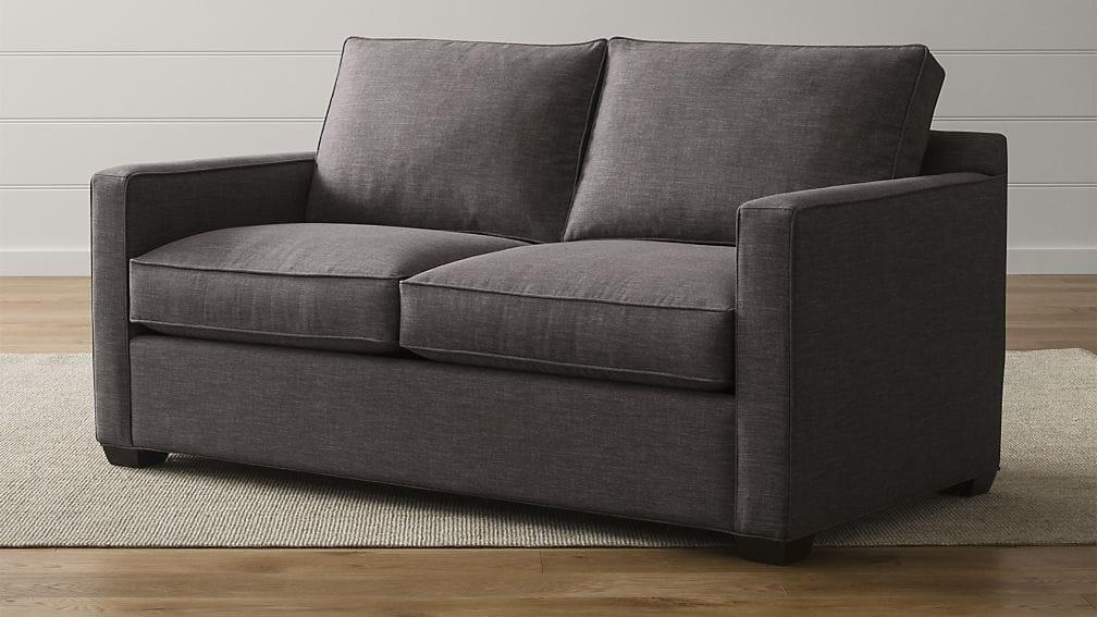 Davis Full Sleeper Sofa | Crate And Barrel Pertaining To Crate And Barrel Sofa Sleepers (Image 5 of 20)