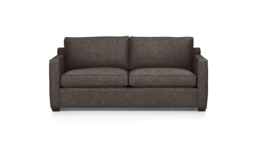 Davis Queen Sleeper Sofa | Crate And Barrel Inside Crate And Barrel Futon Sofas (Image 8 of 20)