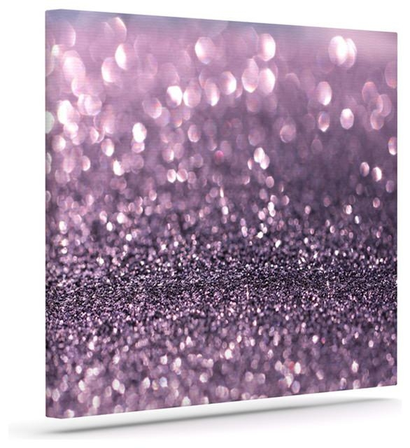 Debbra Obertanec Lavender Sparkle Add Photo Gallery Purple Canvas Within Purple Wall Art Canvas (Image 7 of 20)