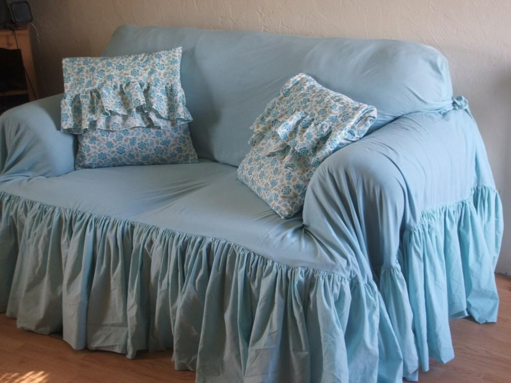 Decor: Lovely Shabby Chic Slipcovers For Enchanting Furniture With Shabby Chic Slipcovers (Image 8 of 20)