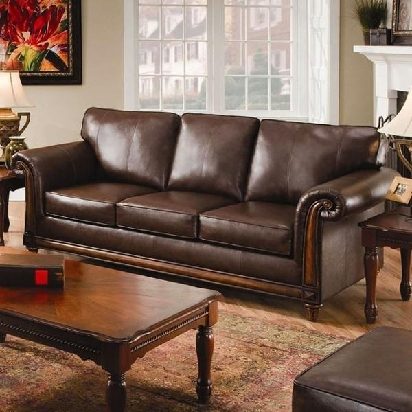 Decor Of Simmons Bonded Leather Sofa With Chairs Leather And Within Simmons Bonded Leather Sofas (Image 11 of 20)