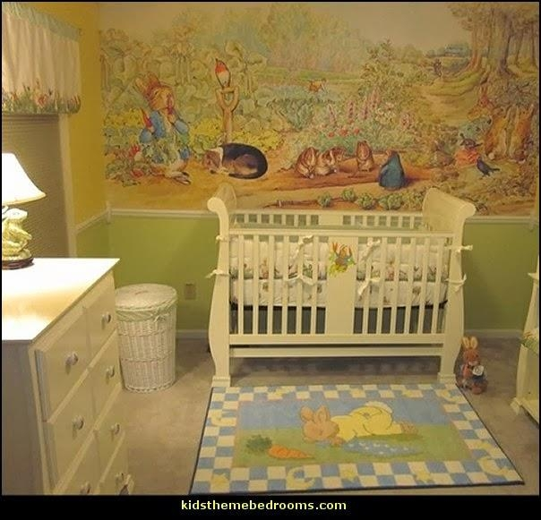 Decorating Theme Bedrooms – Maries Manor: Peter Rabbit Bedroom Regarding Peter Rabbit Wall Art (Image 11 of 20)