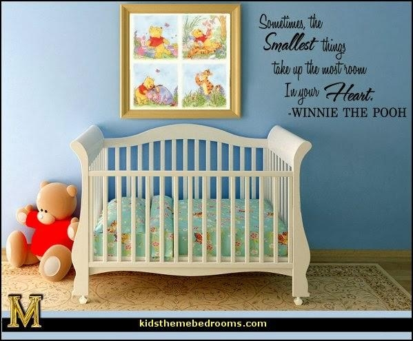 Decorating Theme Bedrooms – Maries Manor: Winnie The Pooh Bedroom With Regard To Winnie The Pooh Wall Art For Nursery (Image 12 of 20)