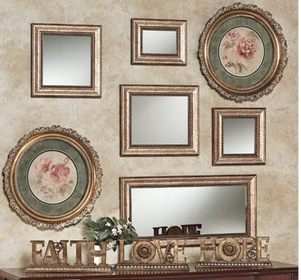 Decorating Your Wall With Accent Mirrors | Touch Of Class Throughout Mirrored Frame Wall Art (Image 8 of 20)