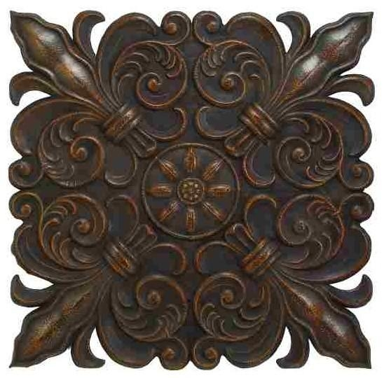 Featured Image of Metal Fleur De Lis Wall Art