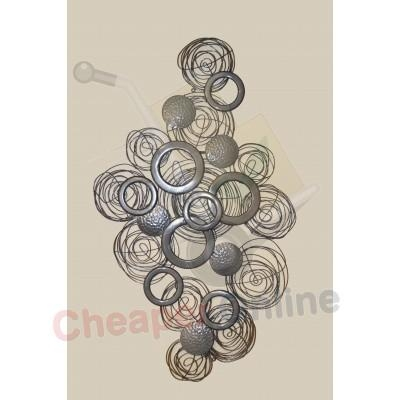 Decorative 3D Metal Circle Wall Art Cheaper Online.co (Image 16 of 20)