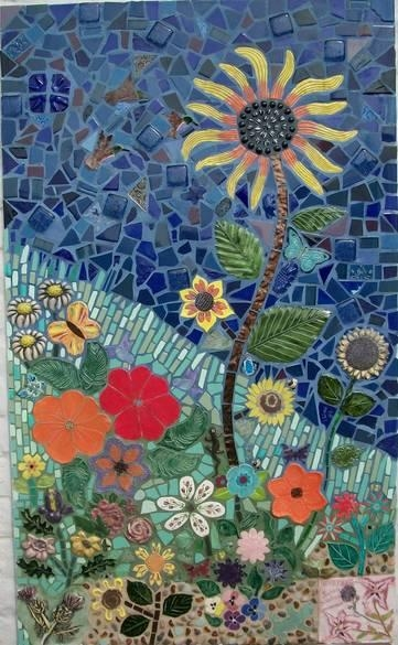 Decorative Arts Mosaic At Chapman And Knott – Garden Grove Photo Inside Mosaic Art Kits For Adults (Image 12 of 20)