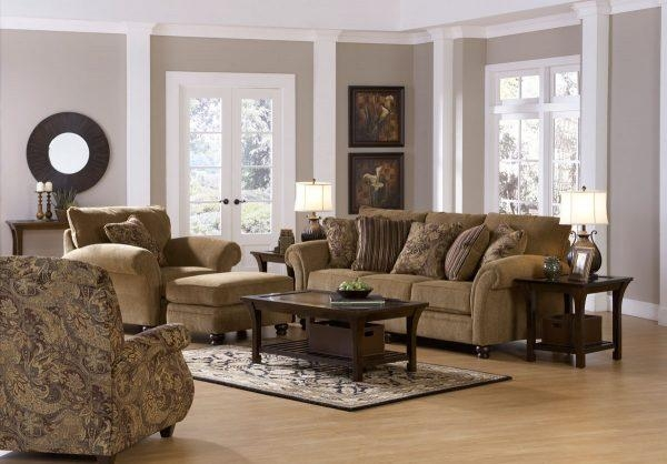 Decorative Beautiful Living Room Sets Using Bradington Truffle For Bradington Truffle Sofas (Image 13 of 20)