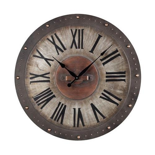 Decorative Clocks | Wall, Hanging, Desk, Large & Small On Sale Throughout Large Art Deco Wall Clocks (Image 7 of 20)
