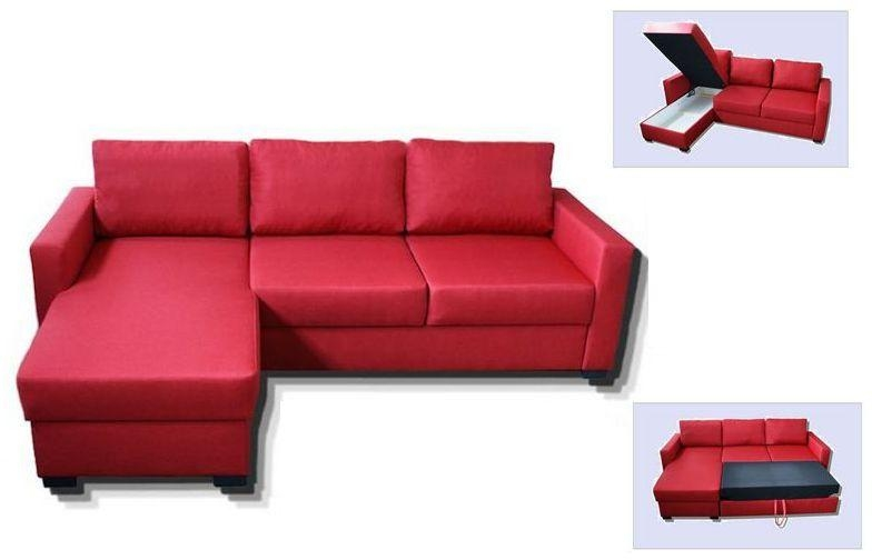 Decorative Corner Sofa Bed Red Pastedgraphic 15 Sofa Intended For Corner Sofa Beds (Image 7 of 20)