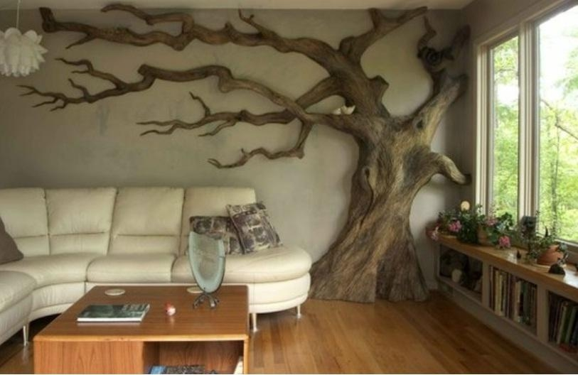 Decorative D Wall Art Galleries In 3D Wall Decor – Home Decor Ideas Regarding 3D Tree Wall Art (Image 16 of 20)