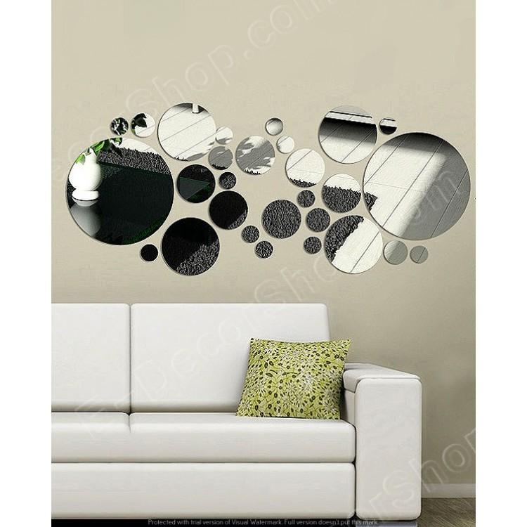 Decorative Mirrored Wall Art Large Mirrors Regarding Contemporary Mirror Wall Art (Image 9 of 20)