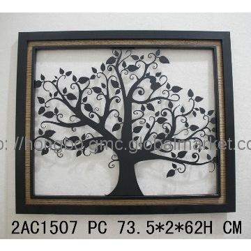 Decorative Wrought Iron Tree Wall Art Manufacturer From Fuzhou China Within Wrought Iron Tree Wall Art (View 5 of 20)