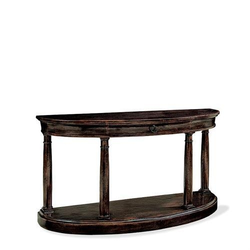 Demilune Console Table 322 914B From Bernhardt Within Bernhardt Console Tables (Image 17 of 20)