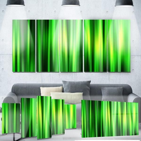 Designart 'abstract Bamboo' Metal Wall Art – Free Shipping Today Pertaining To Bamboo Metal Wall Art (View 18 of 20)