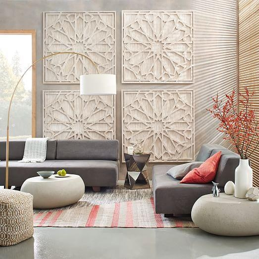 Designs Ideas : Contemporary Dining Space Decor With Large Wall Throughout Large Round Wall Art (Image 6 of 20)
