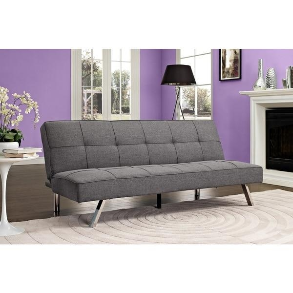 Dhp Zoe Convertible Futon Sofa Bed – Free Shipping Today Within Convertible Futon Sofa Beds (Image 11 of 20)