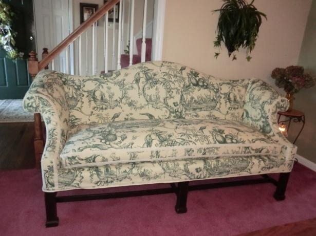 Diana Hershey Completes Level 1 & 2 Of Slipcover Certification Throughout Camel Back Sofa Slipcovers (Image 14 of 20)