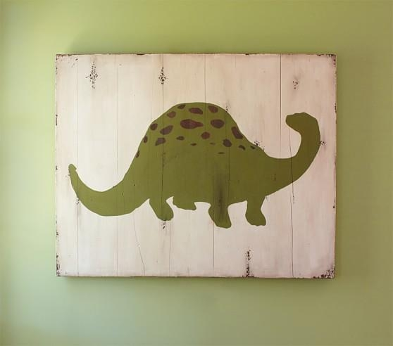 Dino Art | Pottery Barn Kids Inside Dinosaur Wall Art For Kids (View 7 of 20)