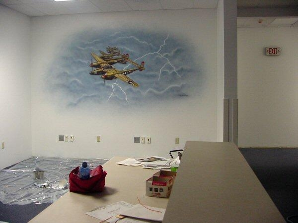 Dino's Custom Art – Airbrushed Wall And Gym Floor Mural Services Within Airbrush Wall Art (Image 9 of 20)