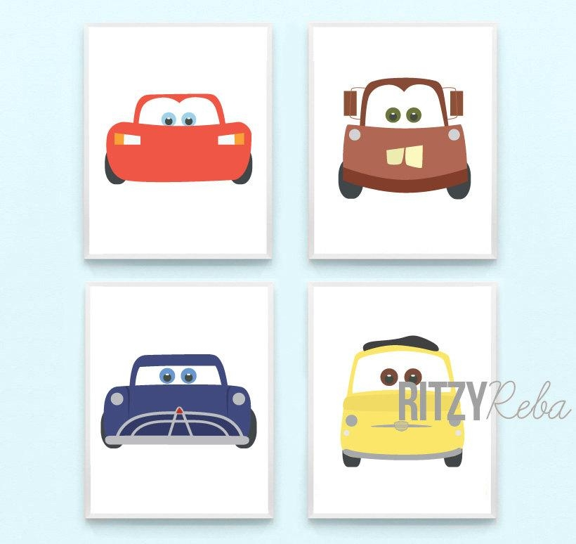 Featured Image of Lightning Mcqueen Wall Art
