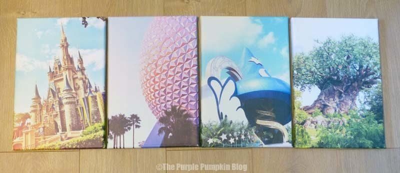 Disney Parks Canvas Wall Art » The Purple Pumpkin Blog Pertaining To Disney Canvas Wall Art (Image 15 of 20)