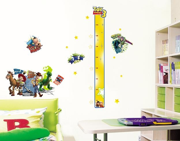 Disney Toy Story 3 Height Measure Wall Stickers – Wallstickery With Toy Story Wall Stickers (Image 6 of 20)