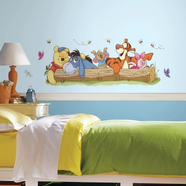 Disney Wall Decals | Disney Wall Stickers | Roommates With Regard To Winnie The Pooh Wall Art For Nursery (Image 14 of 20)