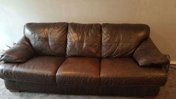Image Result For Brown Leather Sofa Sleeper
