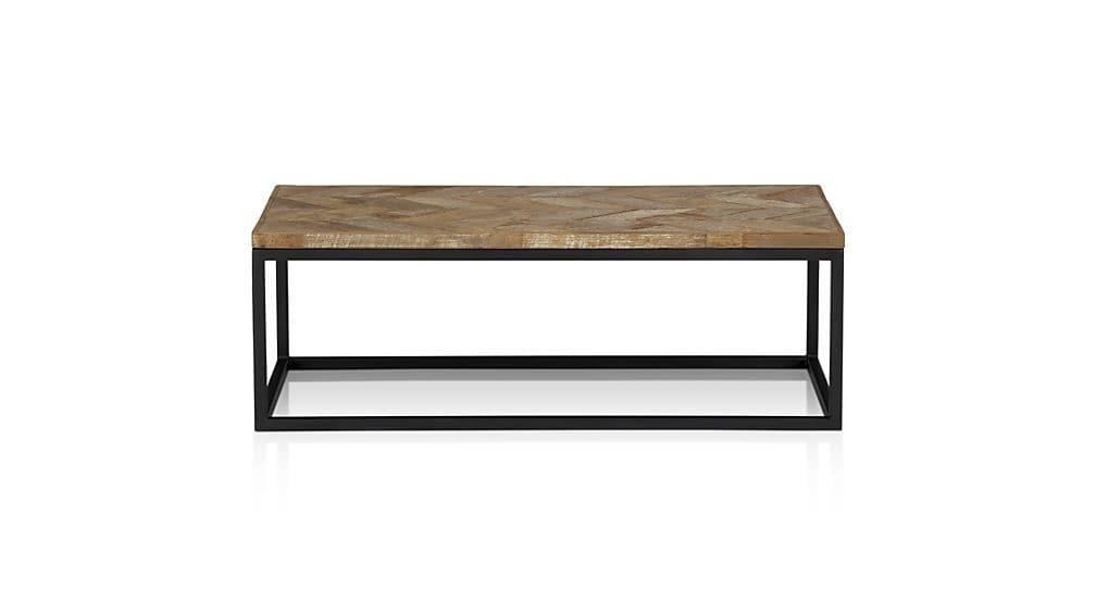 Dixon Coffee Table | Crate And Barrel With Crate And Barrel Sofa Tables (Image 9 of 20)