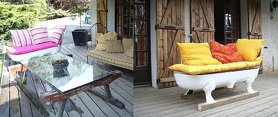 Diy Breakfast At Tiffany's Clawfoot Bathtub Sofa | Popsugar Home Throughout Clawfoot Tub Sofas (View 6 of 20)