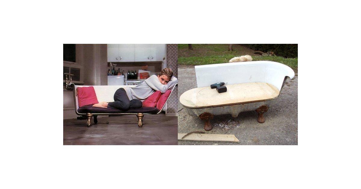 Diy Breakfast At Tiffany's Clawfoot Bathtub Sofa | Popsugar Home Within Clawfoot Tub Sofas (View 19 of 20)