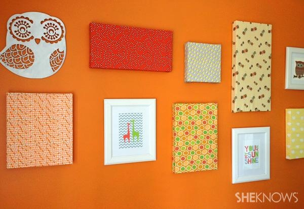 Diy Canvas Artwork In 8 Easy Steps Inside Fabric Canvas Wall Art (View 9 of 20)