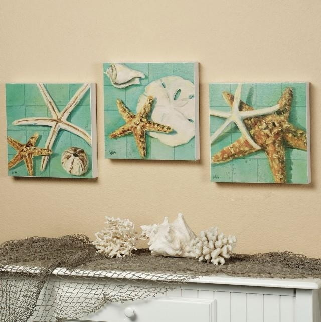 Diy Coastal Wall Art | Home Design Ideas With Coastal Wall Art Canvas (Image 18 of 20)