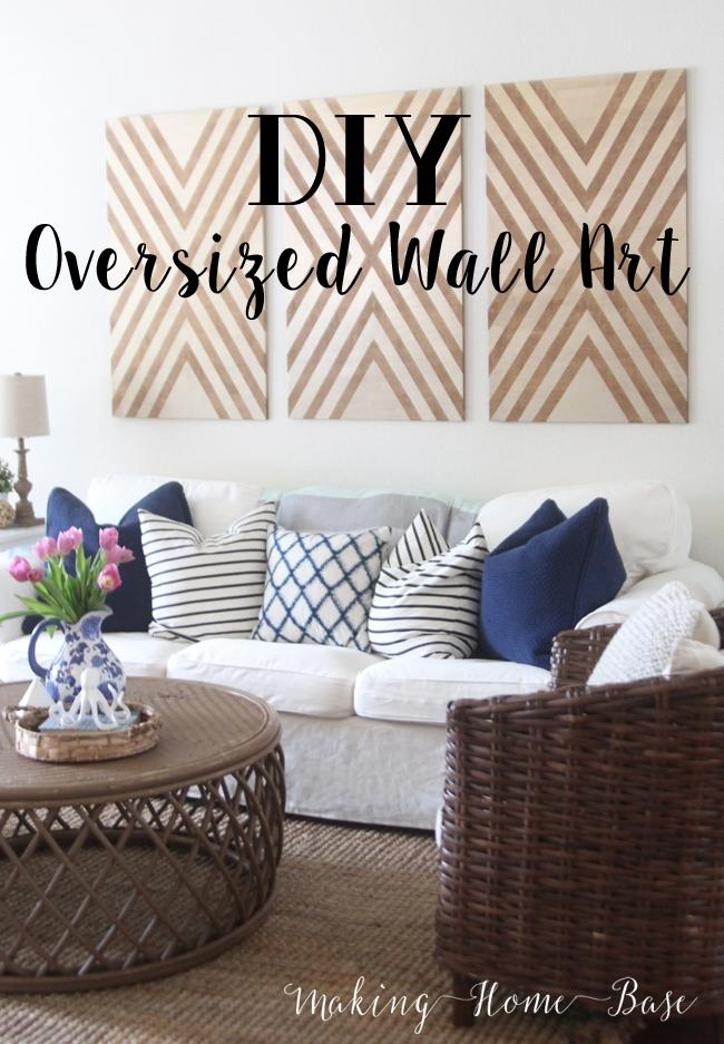 Diy Oversized Wall Art For Oversized Wall Art (View 14 of 20)