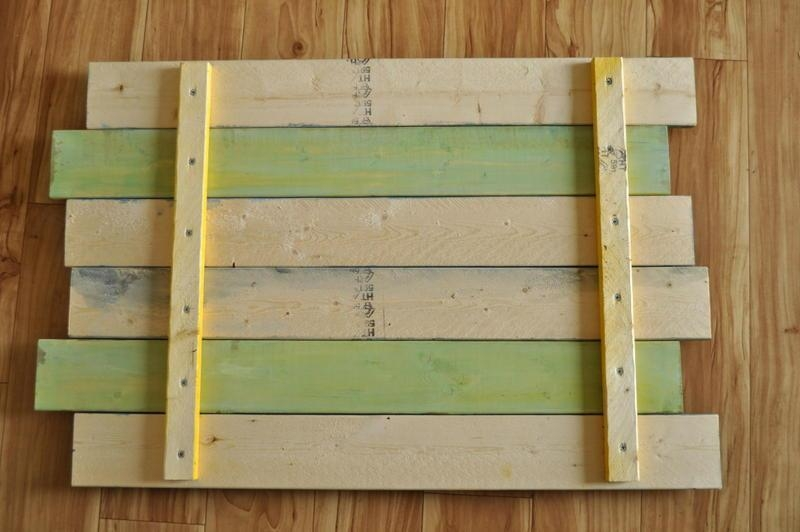 Diy Pallet Wall Art And Decoration | Pallets Designs Within Wood Panel Wall Art (Image 5 of 20)